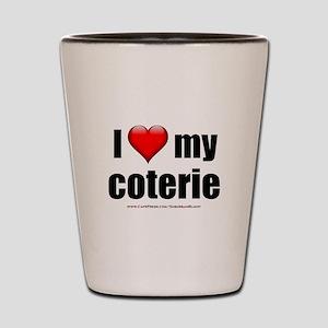 """Love My Coterie"" Shot Glass"