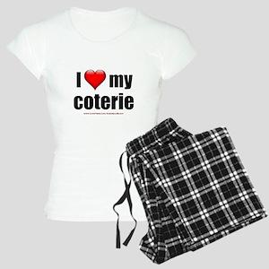 """""""Love My Coterie"""" Women's Light Pajamas"""