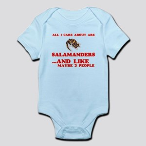 All I care about are Salamanders Body Suit