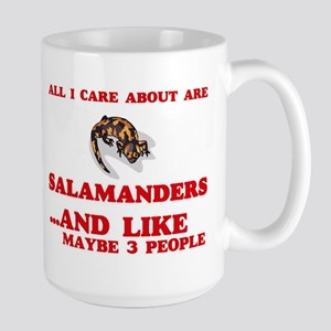 All I care about are Salamanders Mugs