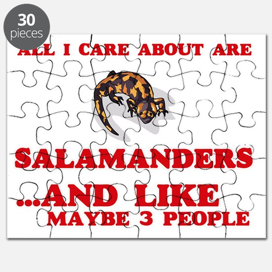 All I care about are Salamanders Puzzle