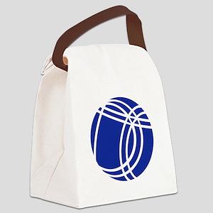 Boule Boccia Petanque Canvas Lunch Bag