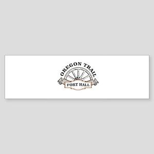 ot fort hall post Bumper Sticker