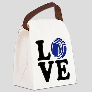 Boule petanque love Canvas Lunch Bag