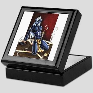 Dark Elf Mage Keepsake Box