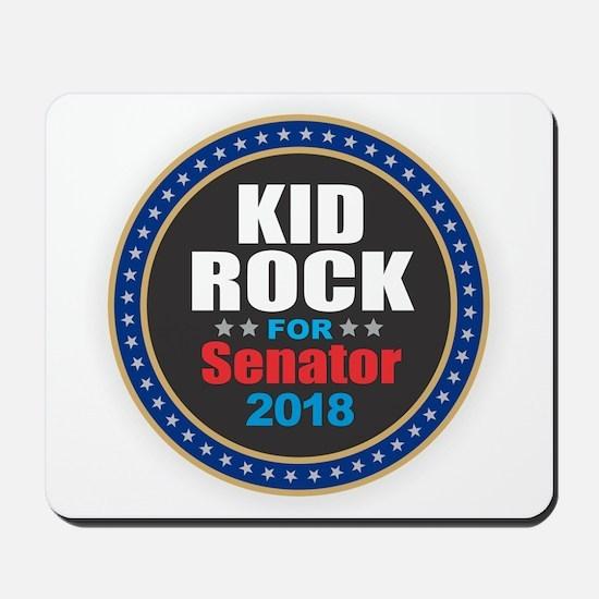 Kid Rock for Senator 2018 Mousepad