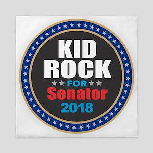 Kid Rock for Senator 2018 Queen Duvet