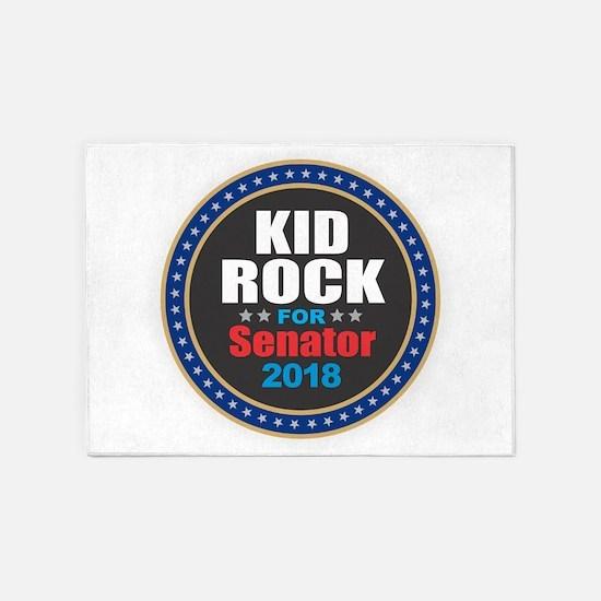 Kid Rock for Senator 2018 5'x7'Area Rug