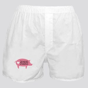 Pig Bacon Boxer Shorts