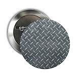 Gray Diamond Plate Pattern 2.25