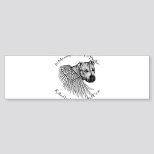 In Memory Bumper Sticker