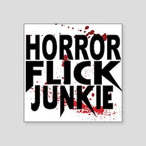 Horror Flick Junkie Sticker
