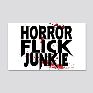 Horror Flick Junkie Wall Decal