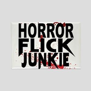 Horror Flick Junkie Magnets