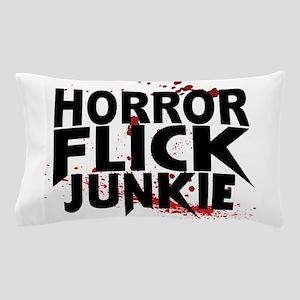 Horror Flick Junkie Pillow Case