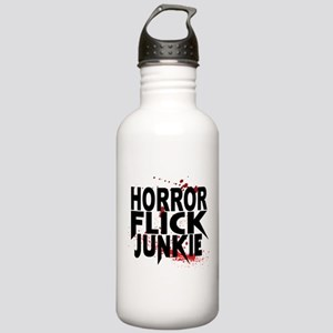 Horror Flick Junkie Water Bottle
