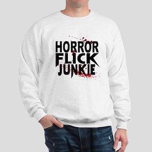 Horror Flick Junkie Sweatshirt