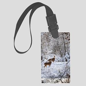 A Winter Wonderland Large Luggage Tag