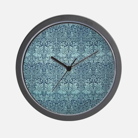 Brer Rabbit by William Morris Wall Clock
