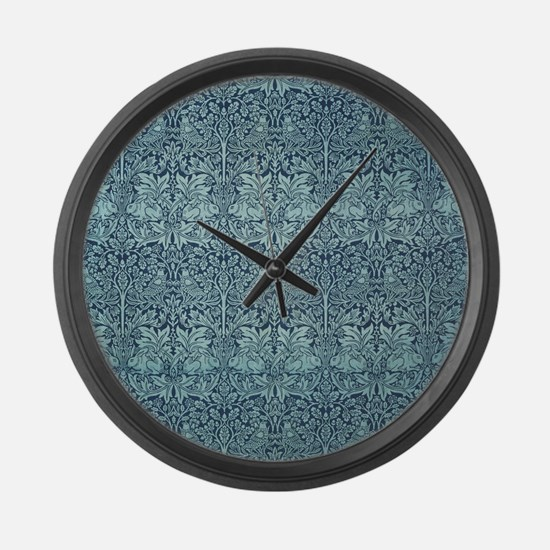 Brer Rabbit by William Morris Large Wall Clock