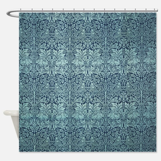 Brer Rabbit by William Morris Shower Curtain