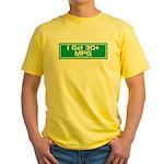 30 MPG Gear Yellow T-Shirt