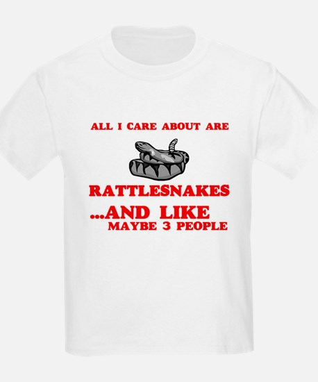 All I care about are Rattlesnakes T-Shirt