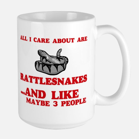 All I care about are Rattlesnakes Mugs