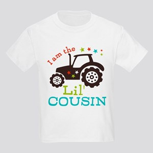 Little Cousin Tractor Kids Light T-Shirt