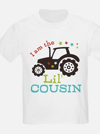 Little Cousin Tractor T-Shirt