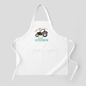 Little Cousin Tractor Apron