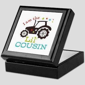 Little Cousin Tractor Keepsake Box