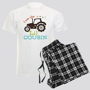 Little Cousin Tractor Men's Light Pajamas
