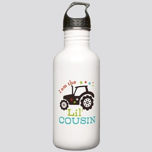 Little Cousin Tractor Stainless Water Bottle 1.0L