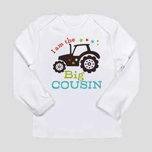 Big Cousin Tractor Long Sleeve Infant T-Shirt