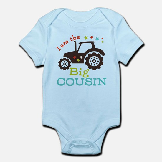Big Cousin Tractor Infant Bodysuit