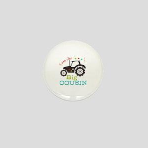 Big Cousin Tractor Mini Button (100 pack)