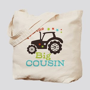 Big Cousin Tractor Tote Bag