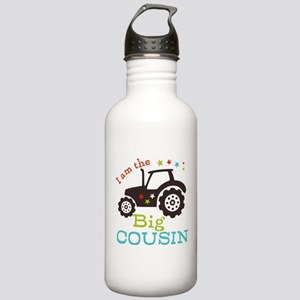 Big Cousin Tractor Stainless Water Bottle 1.0L