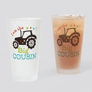 Big Cousin Tractor Drinking Glass
