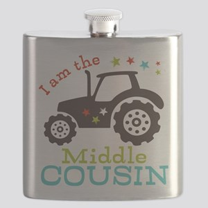 Middle Cousin Tractor Flask