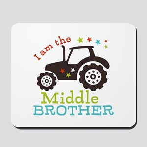 Middle Brother Tractor Mousepad