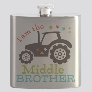 Middle Brother Tractor Flask