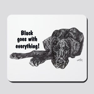 NBlkPup Everything Mousepad