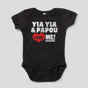 Yia Yia and Papou Love Me Baby Bodysuit