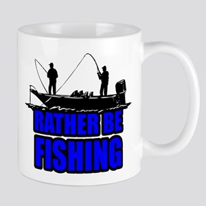 1ratherbefishing1 Mugs