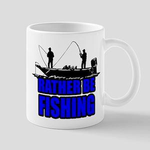1ratherbefishing1 Mugs