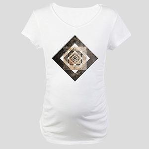 geometric1 Maternity T-Shirt