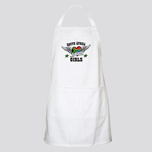 South African girls BBQ Apron