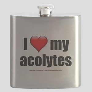 """Love My Acolytes"" Flask"